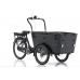 Vogue Carry 3 Elektrische Bakfiets Mat Zwart - Zwart Model 2021