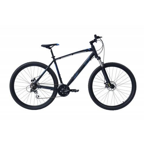 Veloce Outrage 602 MTB 29 Inch 21 Speed M.disc Antraciet Blauw