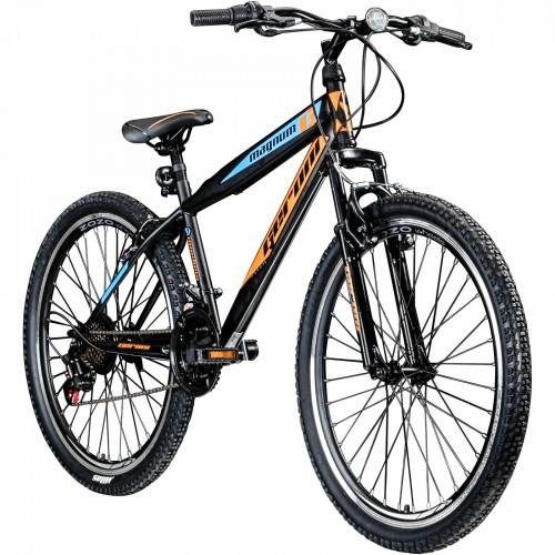 Geroni Magnum 26 inch mountainbike 21 versnellingen zwart oranje
