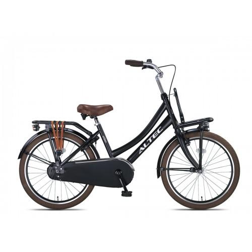 Altec Urban 22 inch transportfiets Mat Zwart